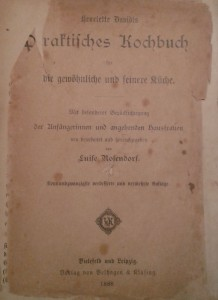 Kochbuch 1