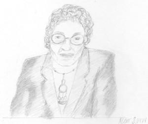 Zeichnung Ruth Flörsheim